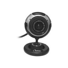 Cámara Web Cam Omega 300k 1600x1200 Microfono incluido 5MP