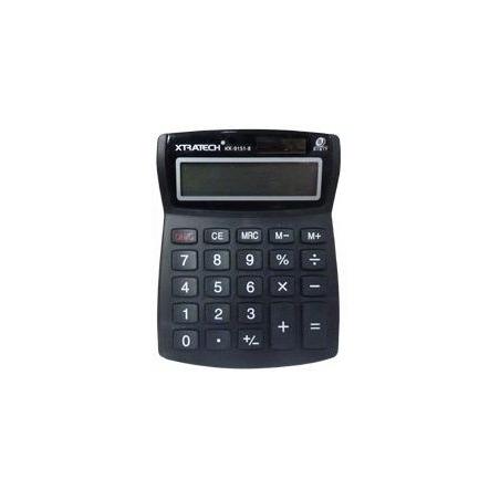 Calculadora Xtratech 8 Dígitos LCD