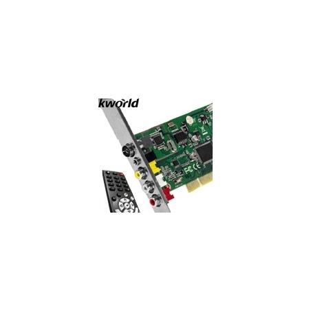 Tarjeta de TV y Radio PCI Kworld con Control Remoto