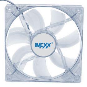 Ventilador de Sistema 120mm LED BLUE Para Desktop Imexx