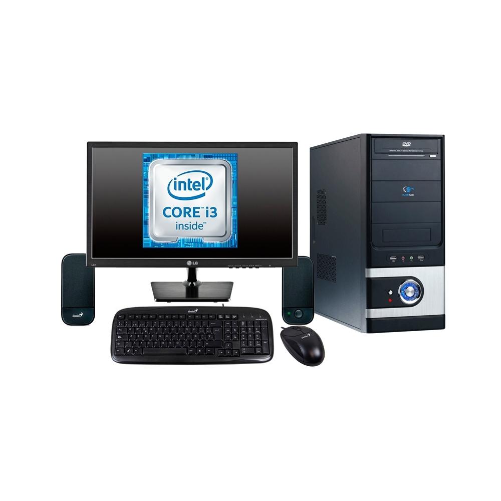 """Combo 6 Computador Core I3 3.10Ghz, 4Gb, 1000Gb (1Tb) 19"""""""