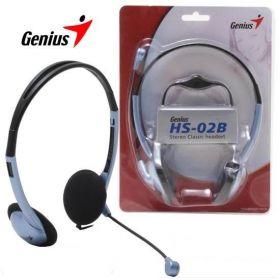 Audifono - microfono HeadSet Genius HS-02B