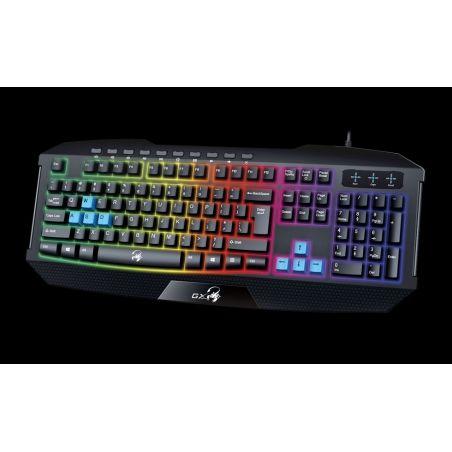 Teclado Genius Gaming Gx Scorpion K215 Iluminado