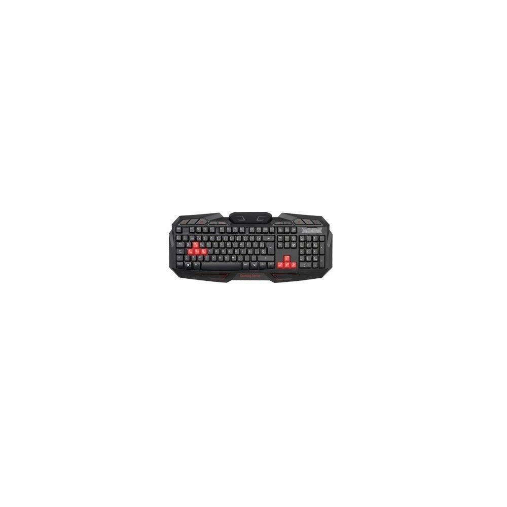 TECLADO OMEGA GAMER ZEUZ KB-801 USB