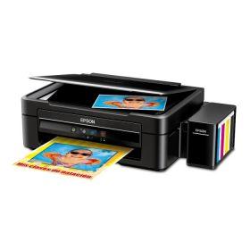Impresora Epson EcoTank L380 Multifuncional EcoTank® L380 con Sistema Original de Tinta continua, Imprime, Escanea y Copia