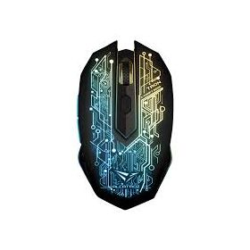 Mouse Gamer Retroiluminado X-Craft 5000 Tron