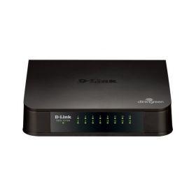 SWITCH D-LINK DES1016A 16 PUERTOS 10/100 MBPS NO ADMINISTRABLE