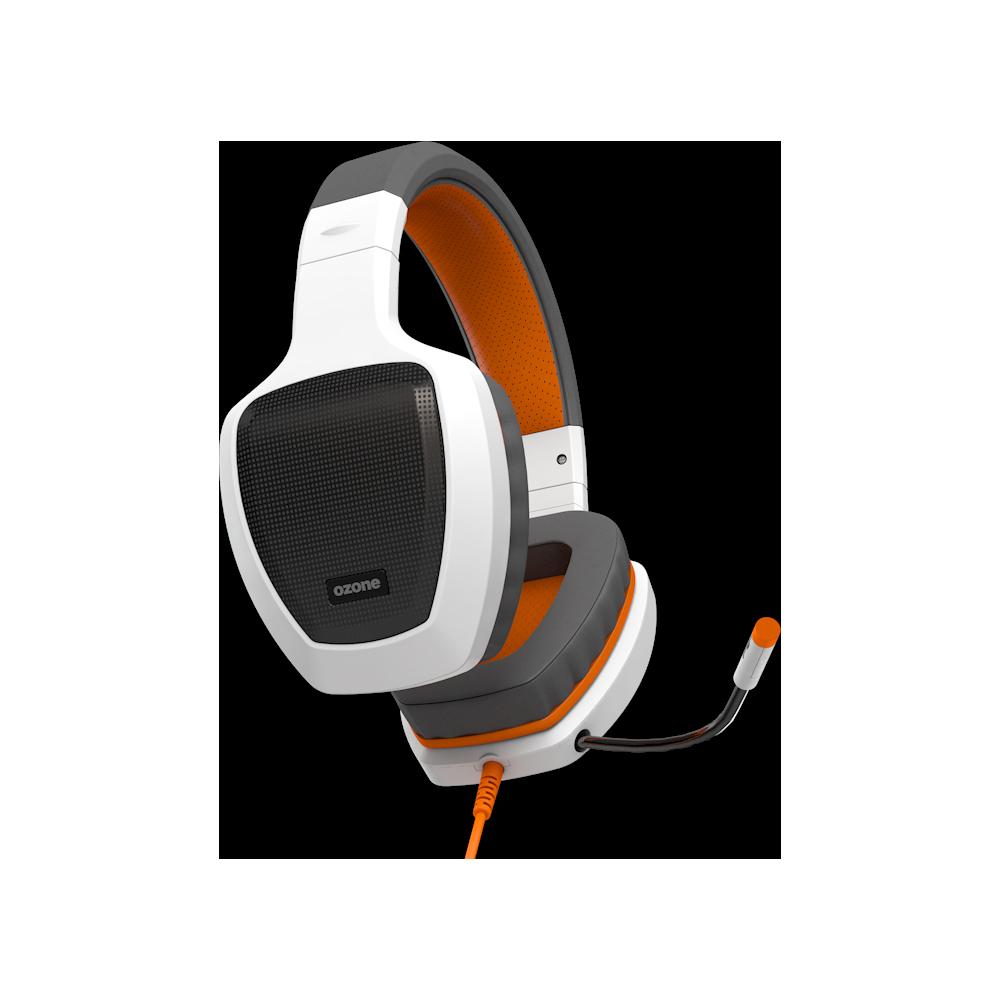 Audifono HeadSet Ozone Gaming Rage Z50 Classic Blanco