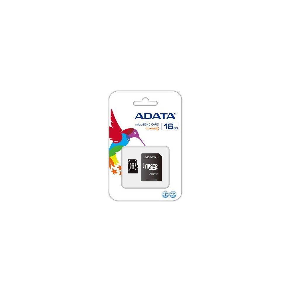 Micro SD 16gb + SD Adapter Adata