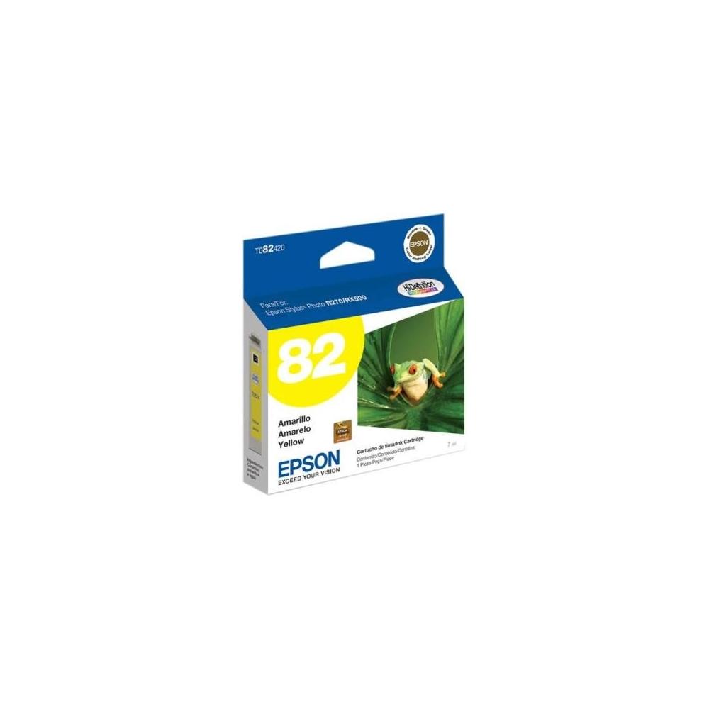 Suministros cartuchos Epson 82N Yellow T082420