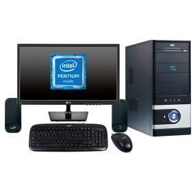 "Combo 3 Computador Intel Cel CoreDuo 2.60Ghz, 4Gb, 500Gb, 19"""