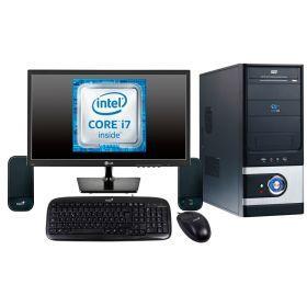 """Combo 8 Computador Core I7 4.20GHz, 8Gb, 1000Gb (1Tb) 20"""""""